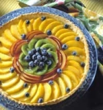 Low-Fat Summer Fruit Tart