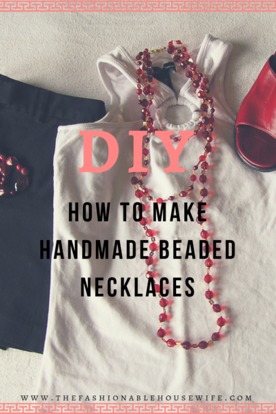 How To Make Handmade Beaded Necklaces
