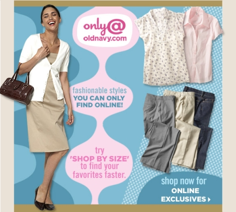 Old Navy – Online Only Styles