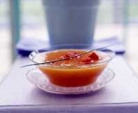 Iced Yellow Tomato Soup