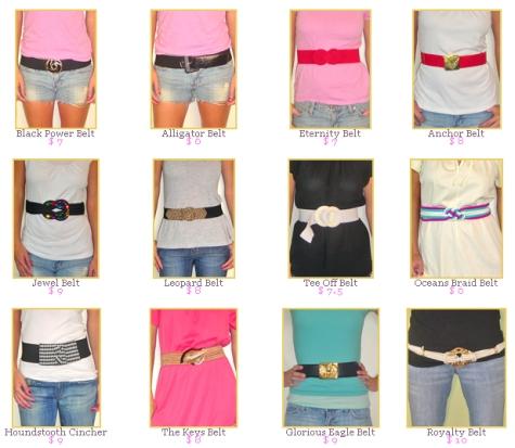 Vintage Amore – Belts