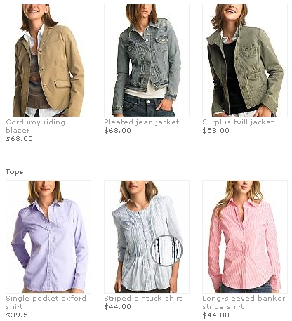 Gap – Fall Essentials