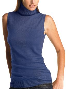 509a1ead368b0c I love sleeveless turtleneck sweaters. If you are over 45 and your neck  isn t what it used to be