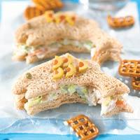 Swimming Tuna Sandwiches