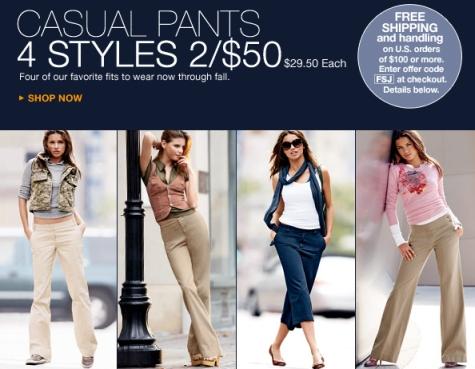 Victoria's Secret – Casual Pants