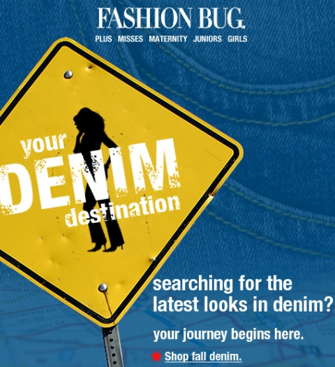 Fashion Bug – Fall Denim