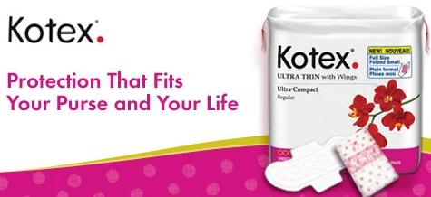 Kotex – Compact Pads