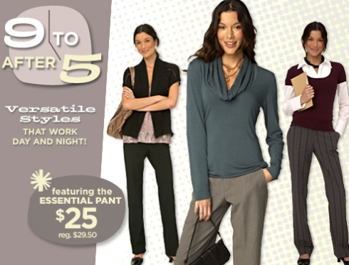 Old Navy – 9 to 5 Styles
