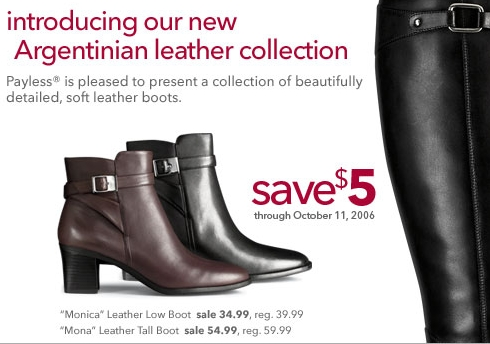 Payless – Leather Boot