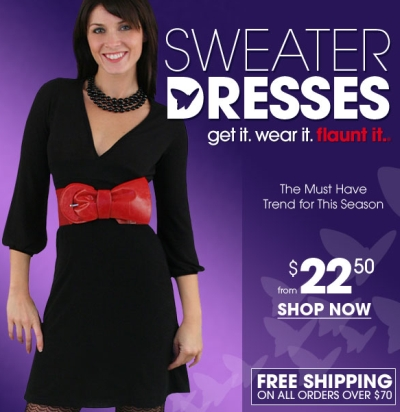 Wet Seal – Sweater Dresses