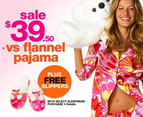 Victoria's Secret – Flannel Pajamas