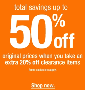 Fashion Bug – up to 50% off Sale