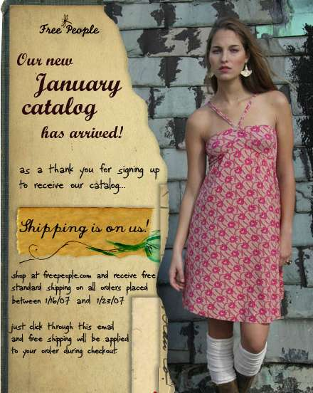 Free People – New Catalog