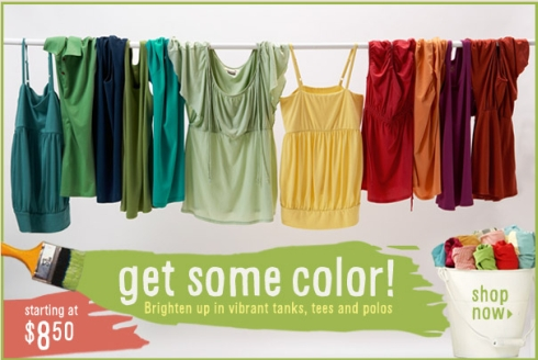 Old Navy – Get Some Color