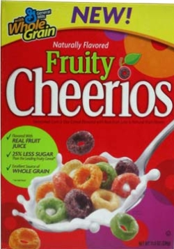 Product Review – Fruity Cheerios