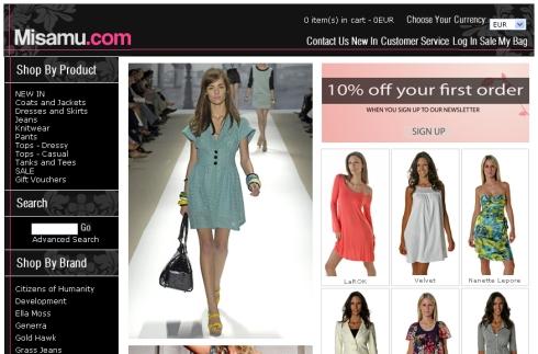 Misamu – 15% Off Designer Labels!