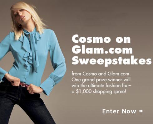 Sweepstakes – $1,000 Shopping Spree