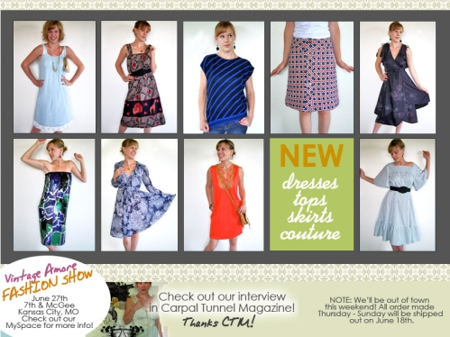 Vintage Amore – New Items
