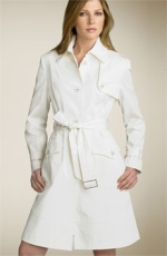 Trend Alert – White Trench