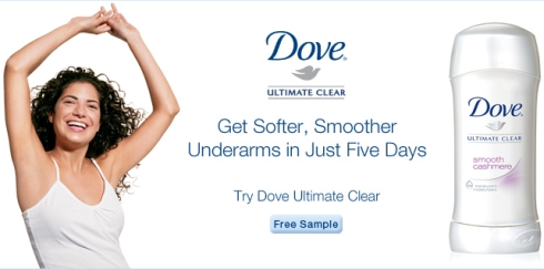 Dove - Ultimate Clear Sleeveless Ready Campaign - The Fashionable Housewife