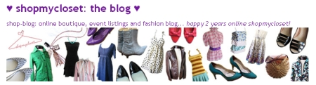 Fashion Blogs: Shop My Closet
