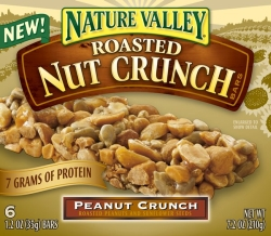 Review: Nature Valley Nut Crunch Bars