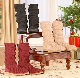 Crochet Knit Boots Are A Must-Have!