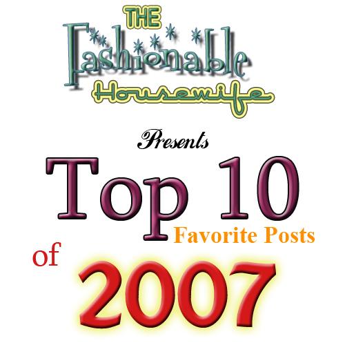 Top 10 Favorite Posts of 2007