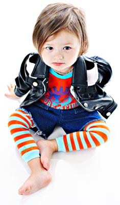 Baby Fashion: Leg Warmers