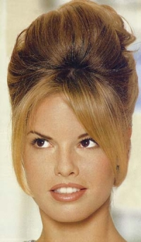 Trend Alert: The 50's Beehive Hair-do - The Fashionable Housewife