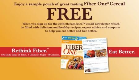 Free Sample: Fiber One