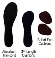 "Bid ""adieu"" to boring sandal insoles!"
