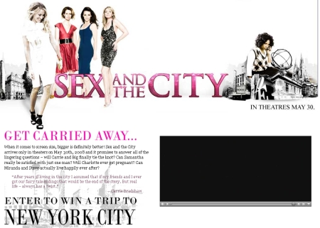 Sex And The City Contest