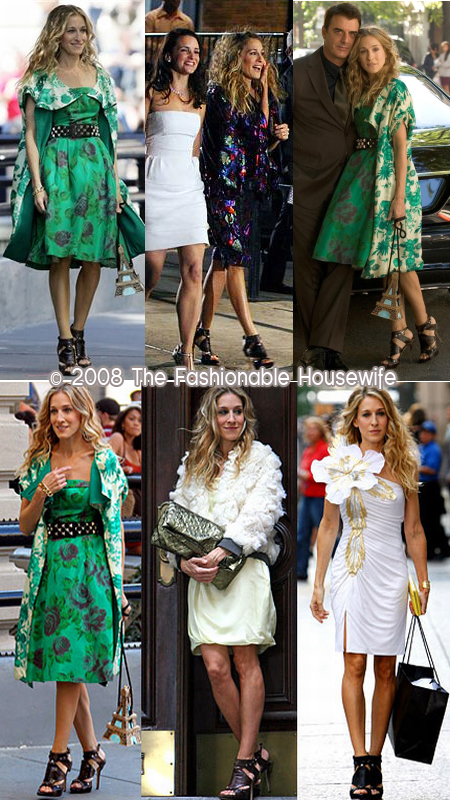 Carrie Bradshaw's Gladiator Sandals