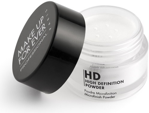 New HD Powder for High Definition skin