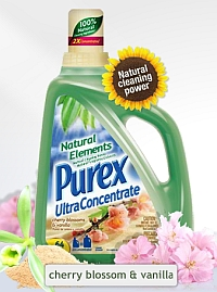 Purex Delivers All Natural Cleaning Power