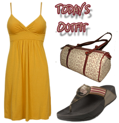 Today's Outfit: FitFlops Sandals