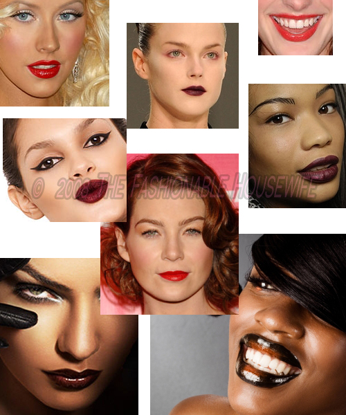 Fall 2008 Trends: Dark Red Lips