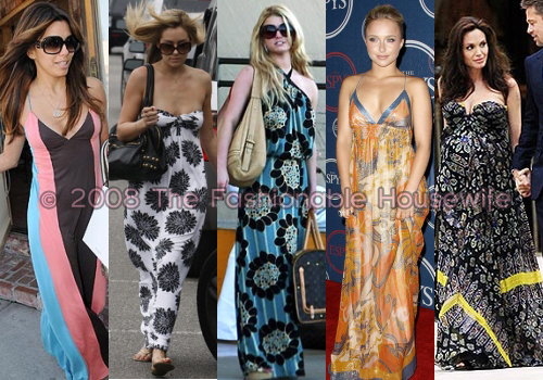 Printed Maxi Dresses For Under