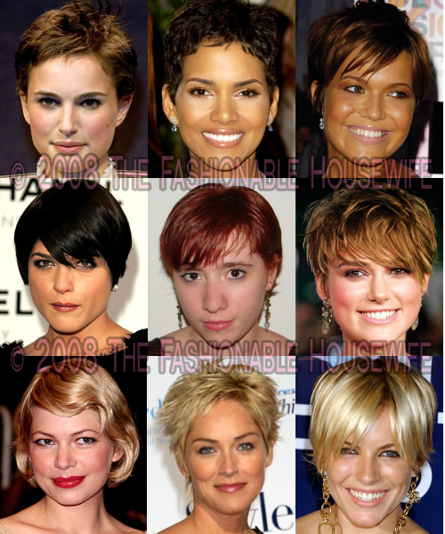 Fall 2008 & Winter 2009 Trends: Short Hairstyles