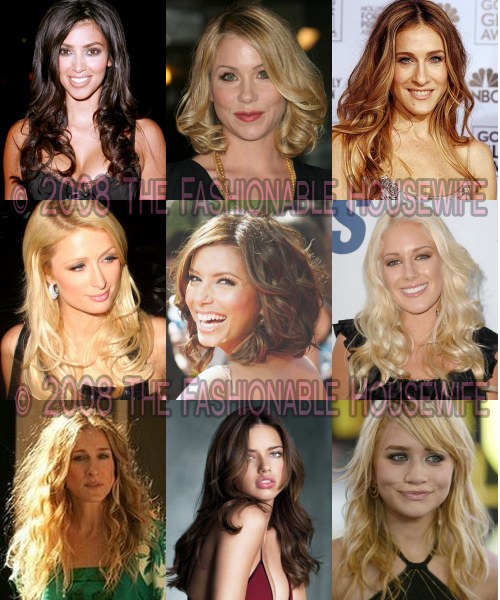 Fall 2008 & Winter 2009 Trends: Wavy & Curly Hairstyles