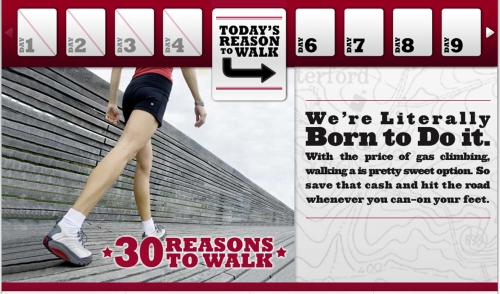 Here's 30 Reasons To Walk with MBT!