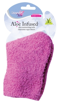 Pink Airplus For Her Aloe Infused Socks