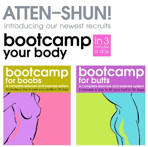 It's Time To Send Your Squishy Butts And Saggy Boobs To Bootcamp!