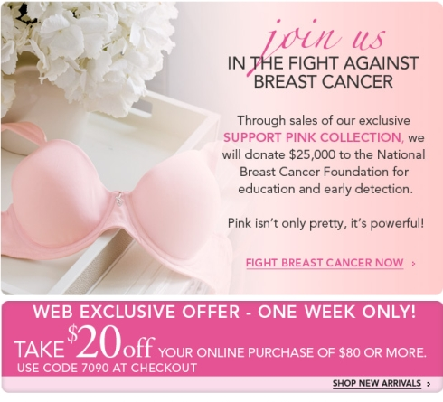 Get Pink With Soma Intimates