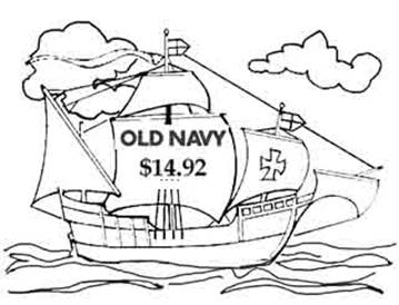 Party Like its 1492 With Old Navy!