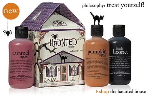 Trick Or Treat Yourself To Philosphy's Halloween Trio