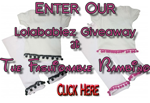 Lolababiez Outfit Giveaway on The Fashionable Bambino
