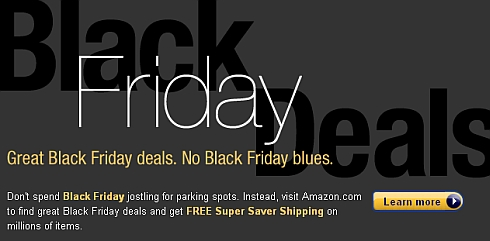 Black Friday Deals at Amazon.com + Free Shipping