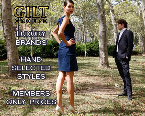 Sample Sale Website: Gilt Groupe